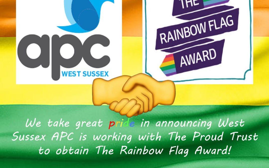 WSAPC Working To Obtain Rainbow Flag Award