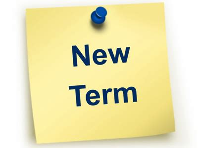 Start Of Autumn Term Wednesday 5th September